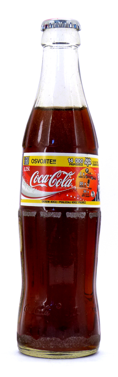 Coke Bottle from Bosnia (BA002)