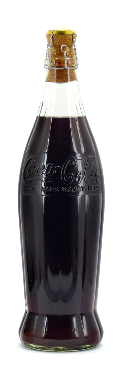 Coke Bottle from Switzerland (CH009)