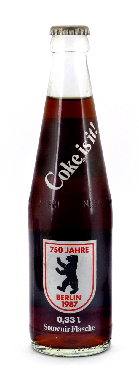 Coke Bottle from Germany (DE026)