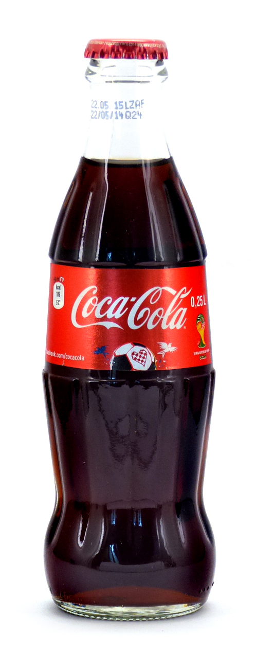 Coke Bottle from Croatia (HR001)