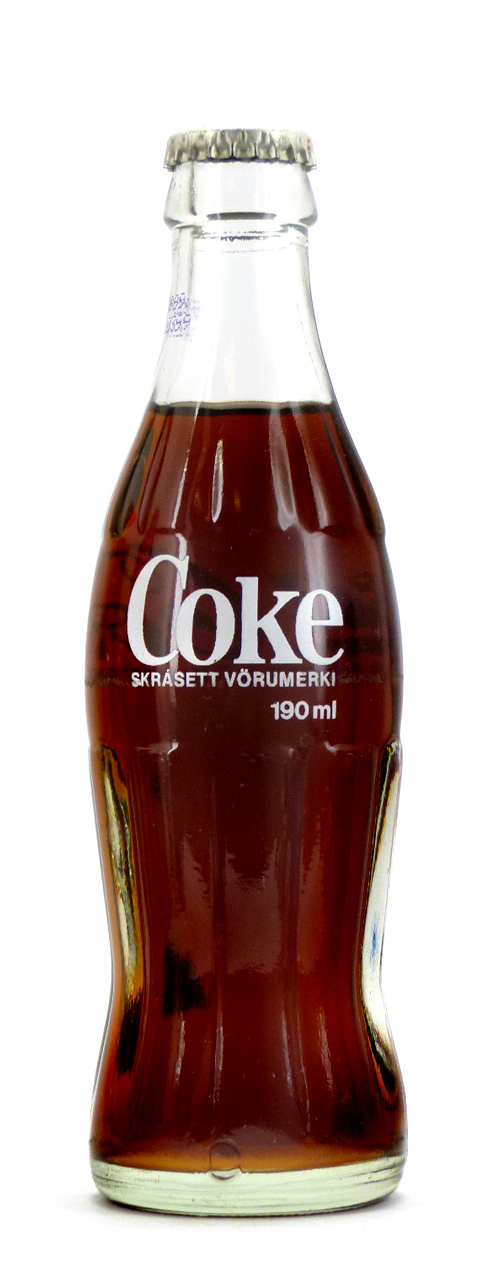 Coke Bottle from Iceland (IS001)