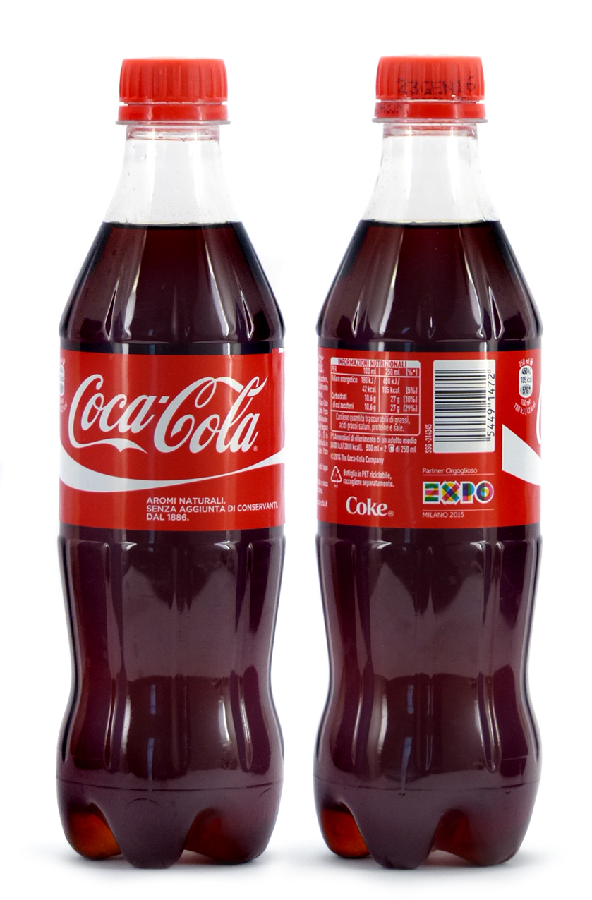Coke Bottle from Italia (IT013)