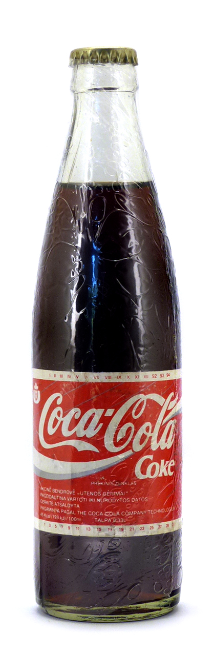 Coke Bottle from Lituania (LT001)