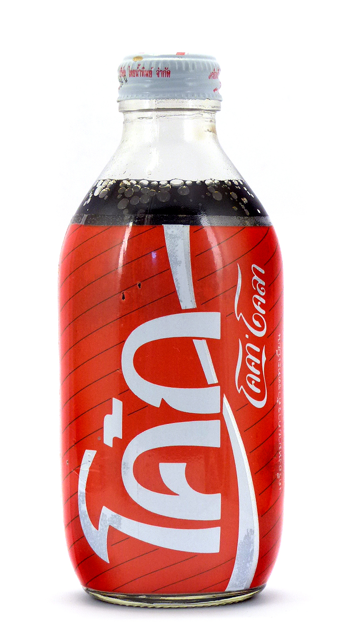 Coke Bottle from Thailand (TH015)