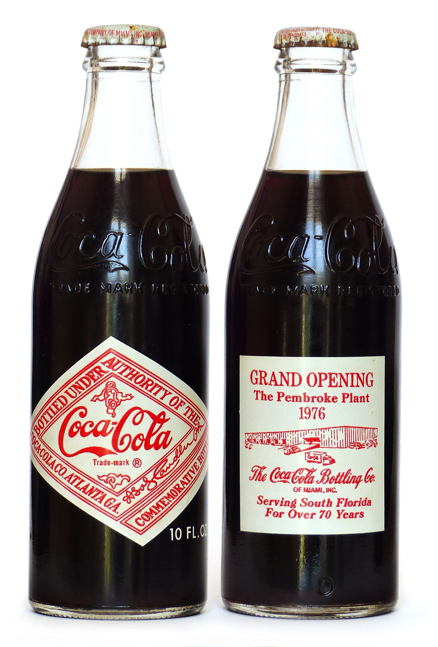 Coke Bottle from USA (US128)